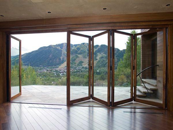 right bi-folding door